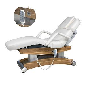 Стаціонарні електричний масажний стіл з ПІДІГРІВОМ стіл для масажу автоматичний ZD-8102