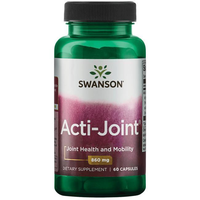 Swanson Ultra Acti-Joint Глюкозамін, хондроїтин, гіалуронова кислота, добавки 860 мг 60 капсул