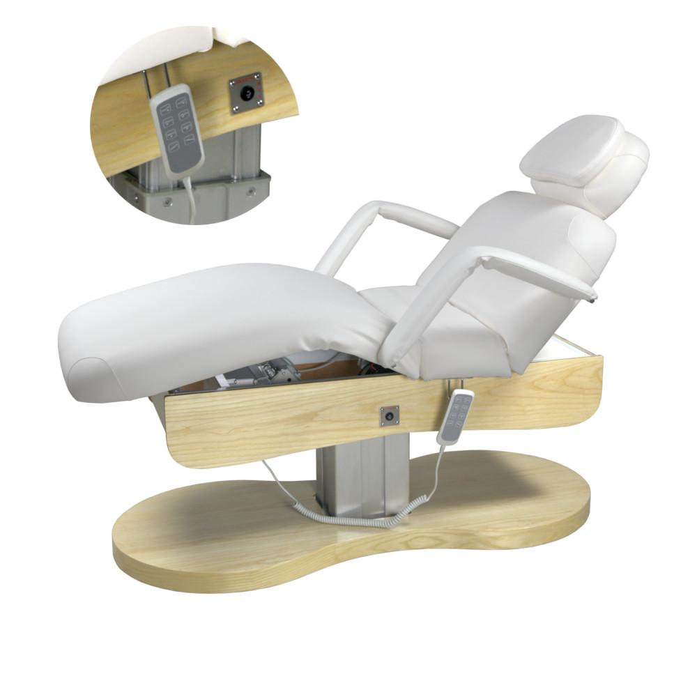 Стол массажный 4 мотора + подогрев кушетка массажная автоматическая электрической регулировкой ZD-8103