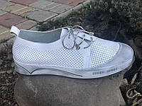 Кеды женские Guero белый 118-753-43 кожа 37(р)