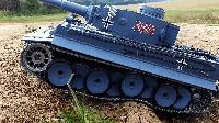 Танк на р/у Тигр I (Tiger I) Heng Long с пневмопушкой и дымовым эффектом (HL3818-1) 1:16, фото 1