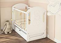 Детская кроватка Baby Dream со стразами маятник
