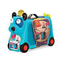 Детский чемодан на колесах чемодан-каталка Песик Турист Battat BX1572Z