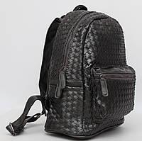 Стильный кожаный (кожа искусственная) женский рюкзак