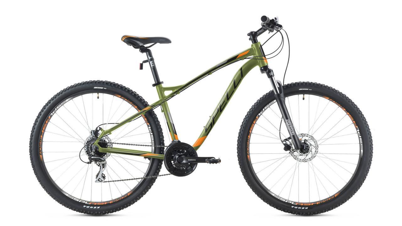 """Велосипед 27,5 Spelli SX-5200 disk 17"""""""