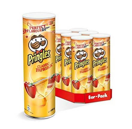 Чипсы Pringles Classic Paprika 165гр, фото 2