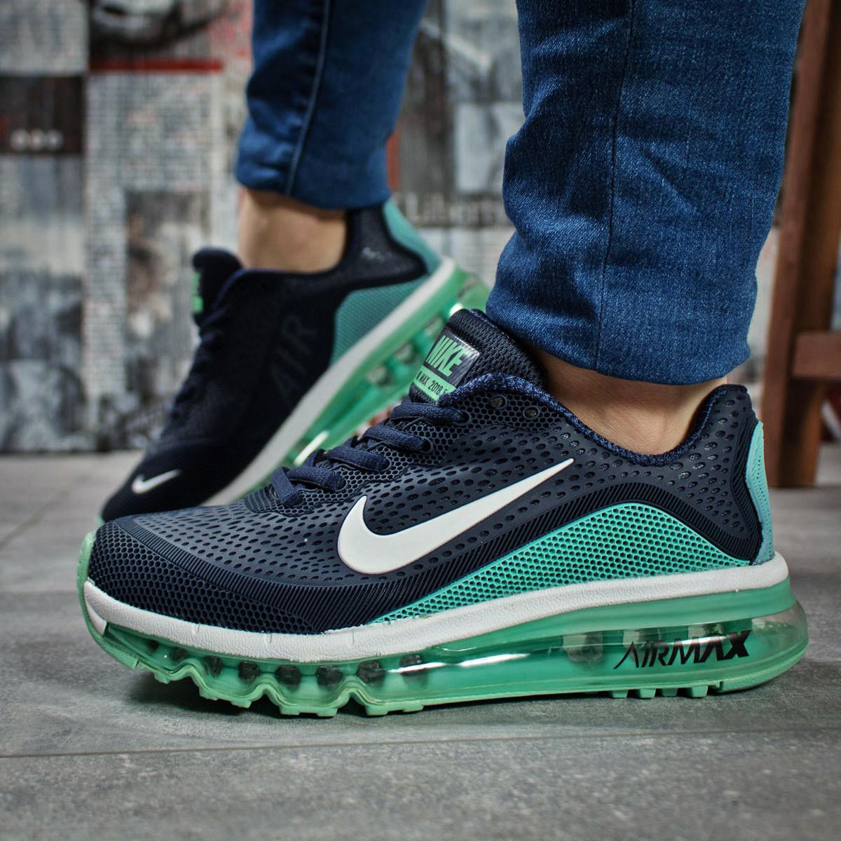 beedde51 Кроссовки женские Nike Air Max, темно-синие (15504) размеры в наличии ▻