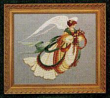Схема Lavender & Lace Angel of Autumn Осенний Ангел LL30
