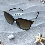 Стильные коричневые очки Dior, фото 5