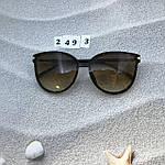 Стильные коричневые очки Dior, фото 4