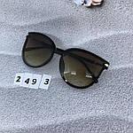 Стильные коричневые очки Dior, фото 7