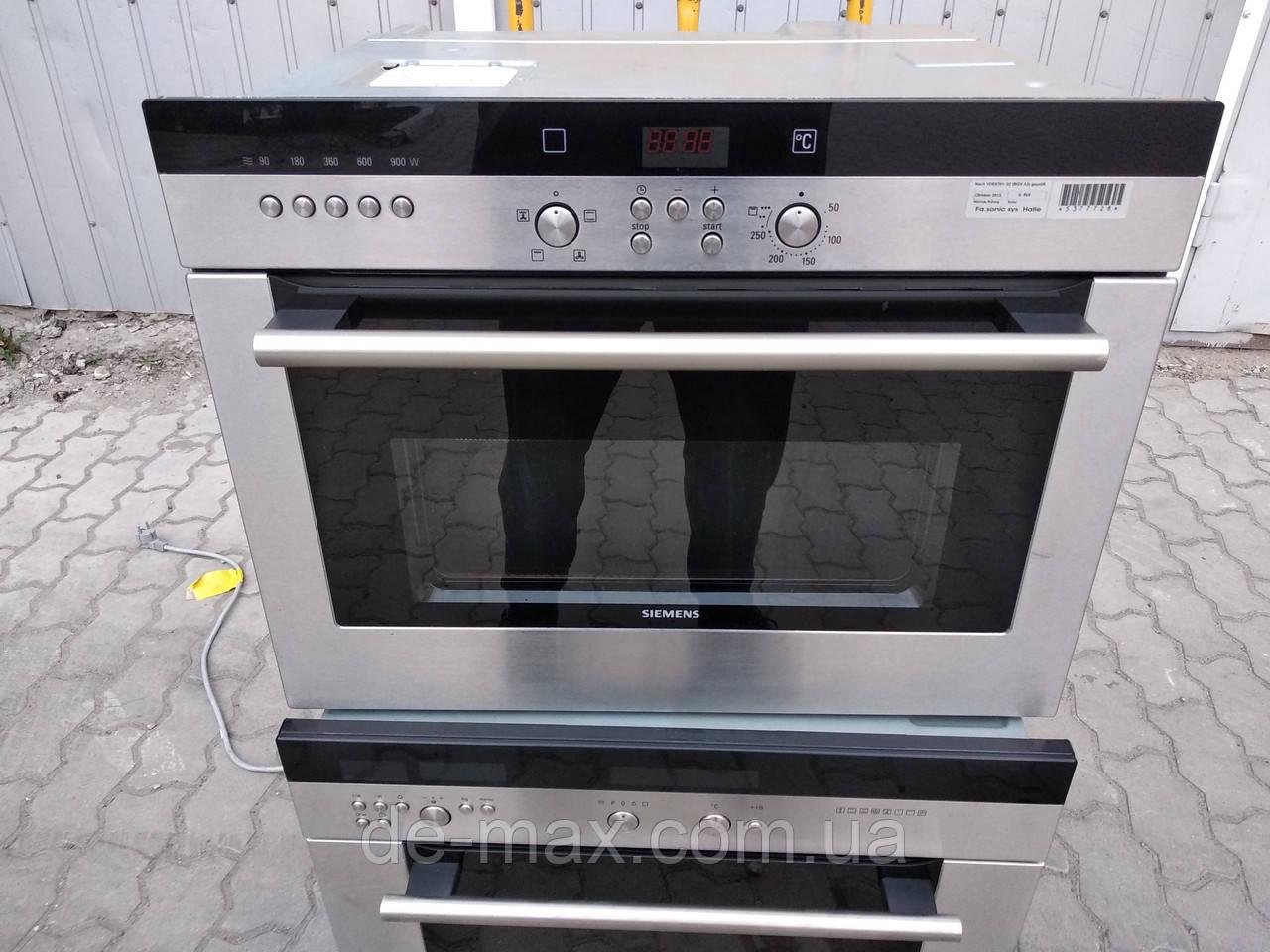 Духовой шкаф духовка + микроволновая печь Сименс SIEMENS HTHB84K