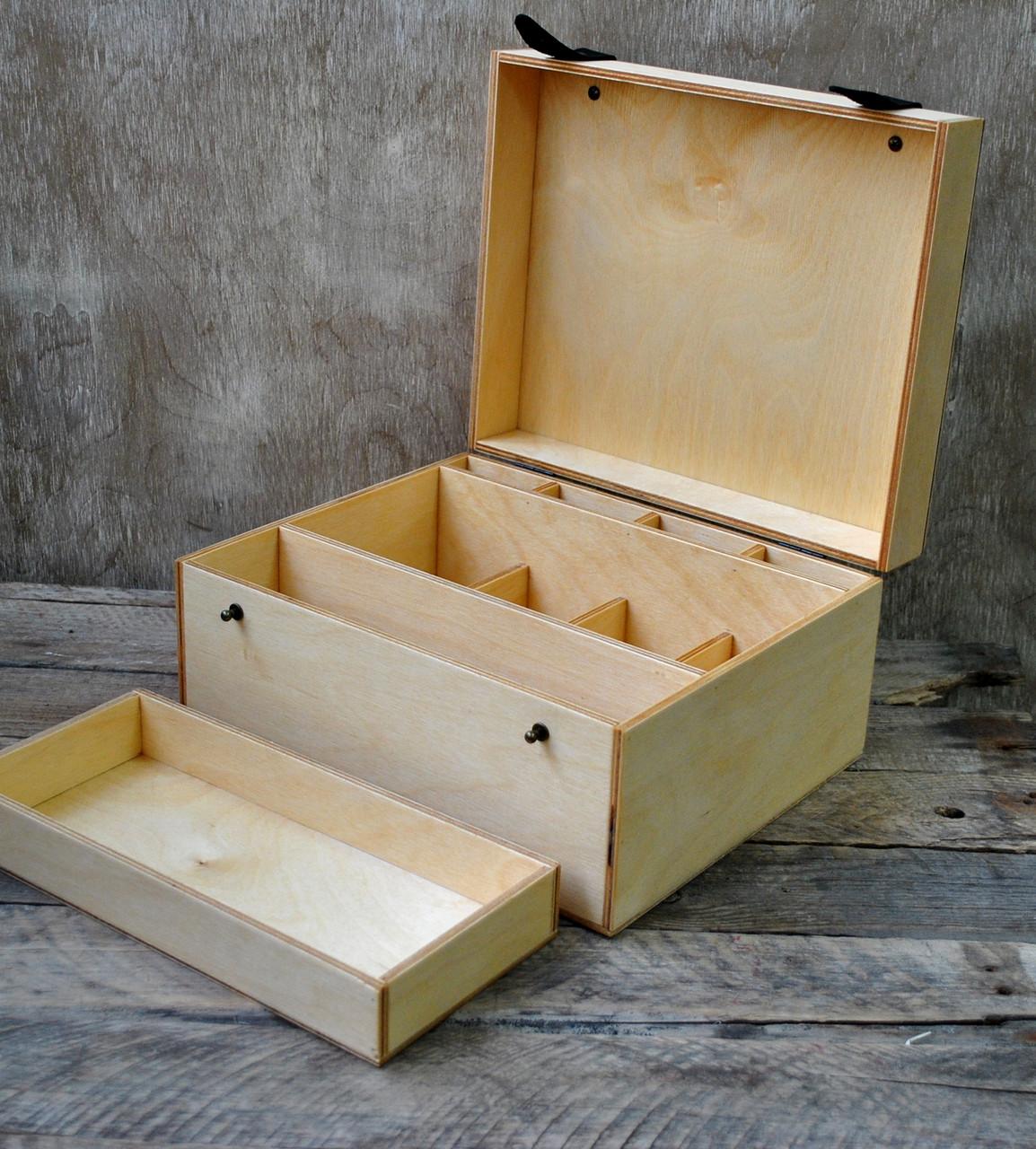 Шкатулка -презентер с перегородками ( с разработкой)