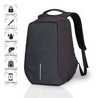 Рюкзак Антивор XD Design Bobby anti-threft для ноутбука с USB для зарядки  Чёрный Копия, фото 1
