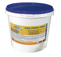 Быстрорастворимые таблетки хлора Quick Chlorine Tablets (1кг) (2101)