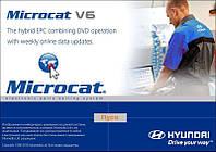 Установка программы каталога запчастей Hyundai Microcat