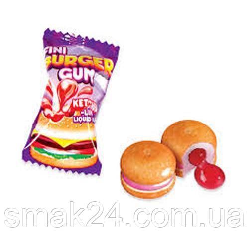 Жевательные конфеты (жвачки) без глютена Fini Burger бургер  Испания 5г
