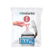 Набор мусорных пакетов Brabantia V 3л, 60шт. (116803)