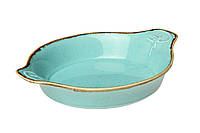 Блюдо для запекания Porland Seasons Turquoise 180 мм 602918.T