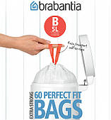 Набор мусорных пакетов Brabantia B 5л, 60шт. (348969)