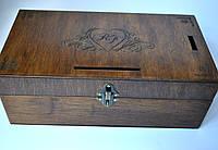 Шкатулка -презентер с перегородками, фото 1