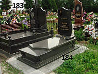 Елітний комплекс пам'ятник закритим надмогиллям із граніту на могилу