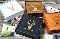Деревянная упаковка для фотографий 15*20 и флешки