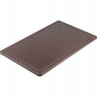 Доска разделочная Stalgast 500х325х15 мм коричневая 341536