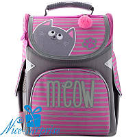 Каркасный рюкзак для девочки Gopack GO19-5001S-1 (1-4 класс), фото 1