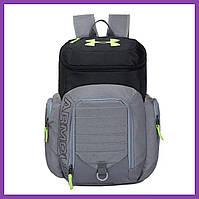 Рюкзак Under Armour Undeniable Backpack Grey-Black