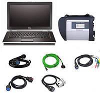 Комплект диагностики Mercedes, Smart. Ноутбук Dell, Star Diagnosis 4, программы, видео курс