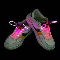 Светящиеся шнурки 1-го поколения Ultralight, розовые