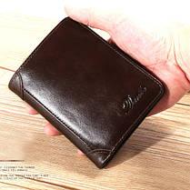 МужчиныНатуральнаяКожаВинтажКороткаякошелек Тонкий Держатель денежных карт с 11 слотами для карт - 1TopShop, фото 2