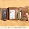 МужчиныНатуральнаяКожаВинтажКороткаякошелек Тонкий Держатель денежных карт с 11 слотами для карт - 1TopShop, фото 4