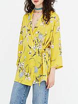 Женские цветочные длинные кардиганы с длинными рукавами и длинными рукавами Шаблон Пальто - 1TopShop, фото 2