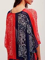 Женское Винтаж Бикини с V-образным вырезом в народном стиле Пляжный Платье - 1TopShop, фото 3
