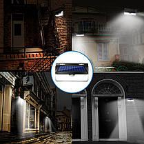 AUGIENB 800LM Солнечная Powered Лампа PIR Motion На открытом воздухе Yard Сад Light Дистанционное Управление - 1TopShop, фото 3