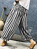 Женское Винтаж Эластичная верхняя талия полосатая Брюки - 1TopShop, фото 2