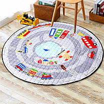 55 '' Soft Cotton Round Baby Kids Game Спортзал Play Crawling Blanket Toys Storage Сумка - 1TopShop, фото 2