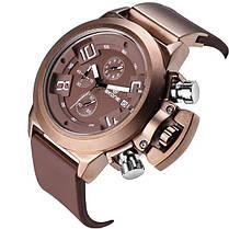 SKONE 4188 Мода Мужчины Водонепроницаемый Кварцевые часы Мужчины Luxury силиконовой лентой Многофункциональный Спортивные часы - 1TopShop, фото 3