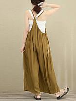 S-5XL Женское Повседневный безрукавный ремешок Baggy Wide Leg Pant Комбинезон Rompers - 1TopShop, фото 2