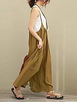 S-5XL Женское Повседневный безрукавный ремешок Baggy Wide Leg Pant Комбинезон Rompers - 1TopShop, фото 3