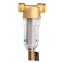 TMOK Фильтр для воды с предварительным фильтром 3/4 и 1 Очиститель фильтра предварительной очистки латунной сетки C Адаптер редуктора - 1TopShop, фото 2