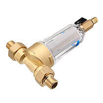 TMOK Фильтр для воды с предварительным фильтром 3/4 и 1 Очиститель фильтра предварительной очистки латунной сетки C Адаптер редуктора - 1TopShop, фото 3