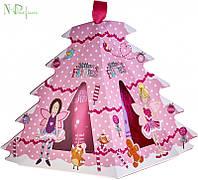 Набор Grace Cole Glitter Fairies Tree Mendous Trio (Гель для душа 50 мл * Пена для ванны 50 мл * Мочалка)