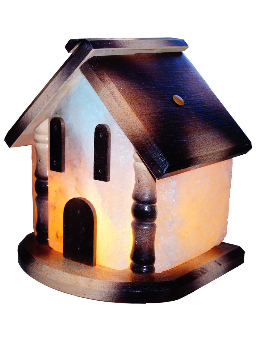 """Соляная лампа """"Домик"""", 5-6 кг, (20см*20см*25 см)"""