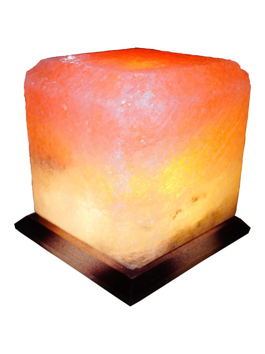 """Соляная лампа """"Квадрат"""", 9-10 кг, (20*20*23 см)"""