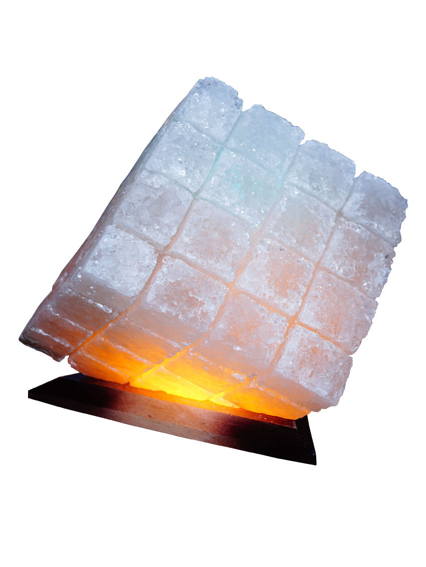 "Соляна лампа ""Куб"", 9-10 кг, (25*25*15 см)"