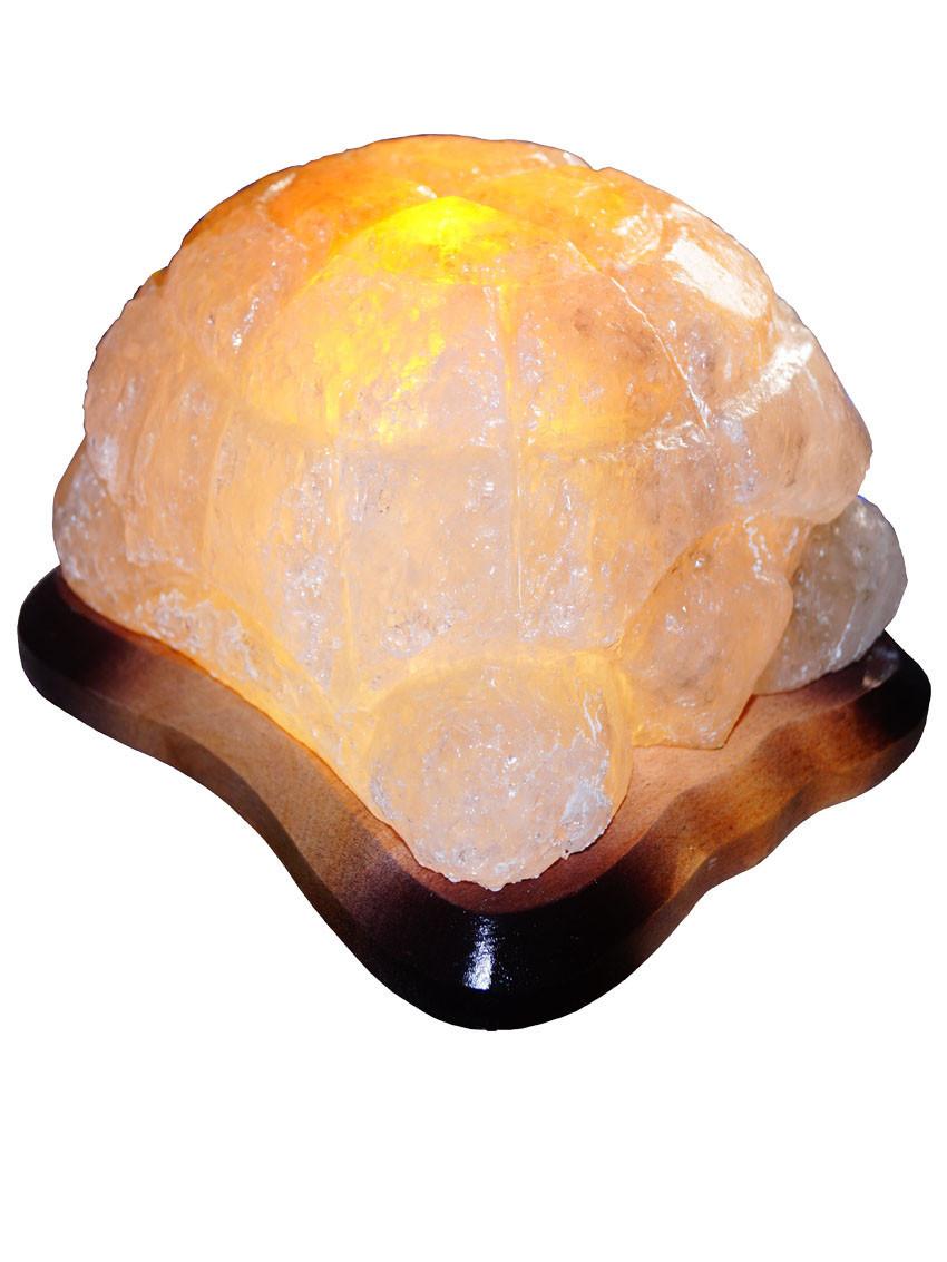 """Соляная лампа """"Черепаха"""", 4-5 кг, (20*18*18 см)"""