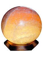 """Соляная лампа """"Шар"""", 6-7 кг, (18*18*22 см)"""